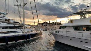 Week end à Cannes : port de plaisance
